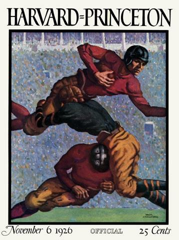 Vintage Football - Vintage Game Posters