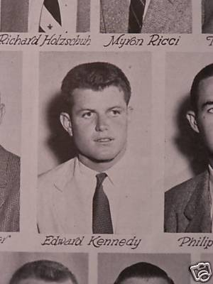The Kennedys And Football Programs Vintage College
