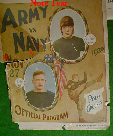 Army Navy 1920