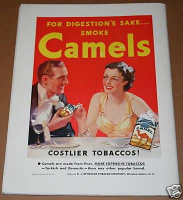 Camels 1936 AN