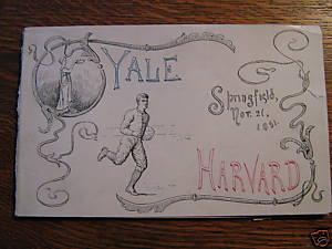Harvard Yale 1891-3