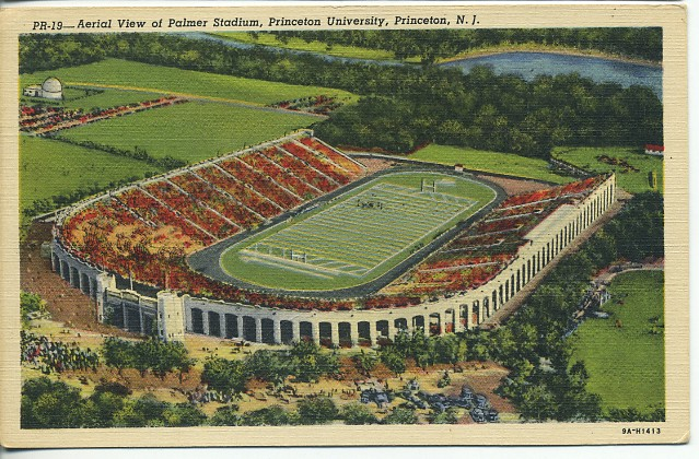 Opening One Month After Princetons Stadium The Cavernous Yale Bowl Opened On November 21 1914 When Blue Was Blown Out By Harvard 36 0