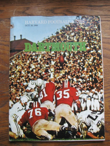 Harvard Dartmouth 1968