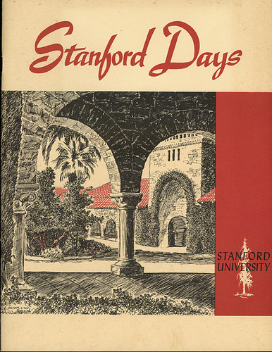early stanford university recruiting brochure vintage college