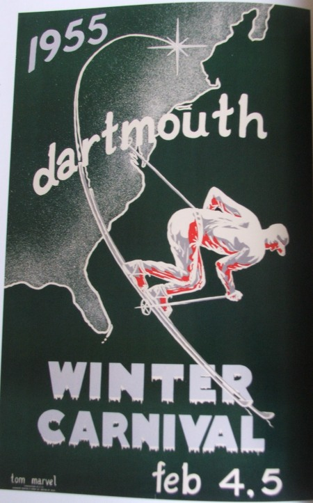 Dartmouth Winter Carnival Poster 1955