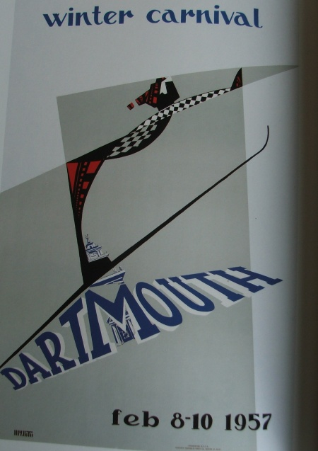Dartmouth Winter Carnival Poster 1957