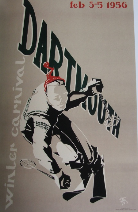 Dartmouth Winter Carnival Poster 1956