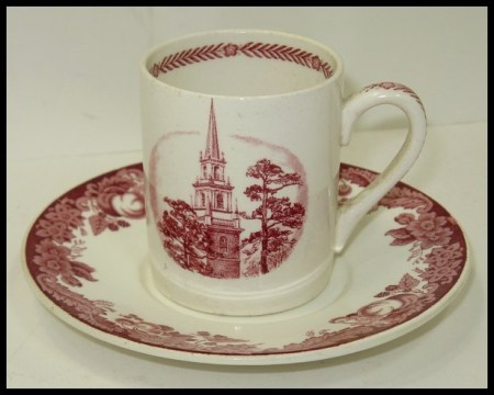 Harvard Wedgwood Demitasse